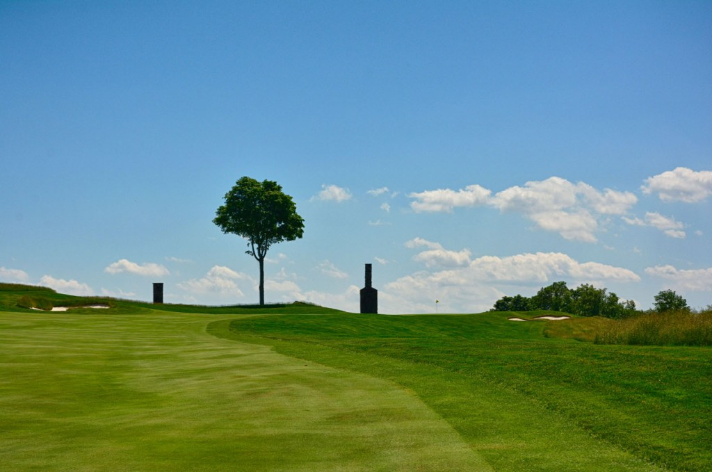 Hudson National Hole 4 Approach