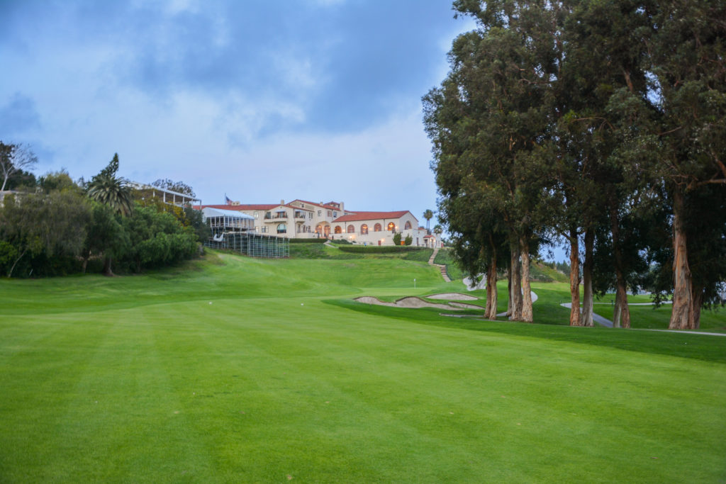 Riviera Country Club Hole 18