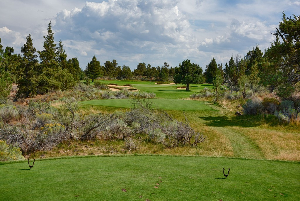 The 16th Hole on the Fazio Course at Pronghorn Golf Club near Bend, Oregon