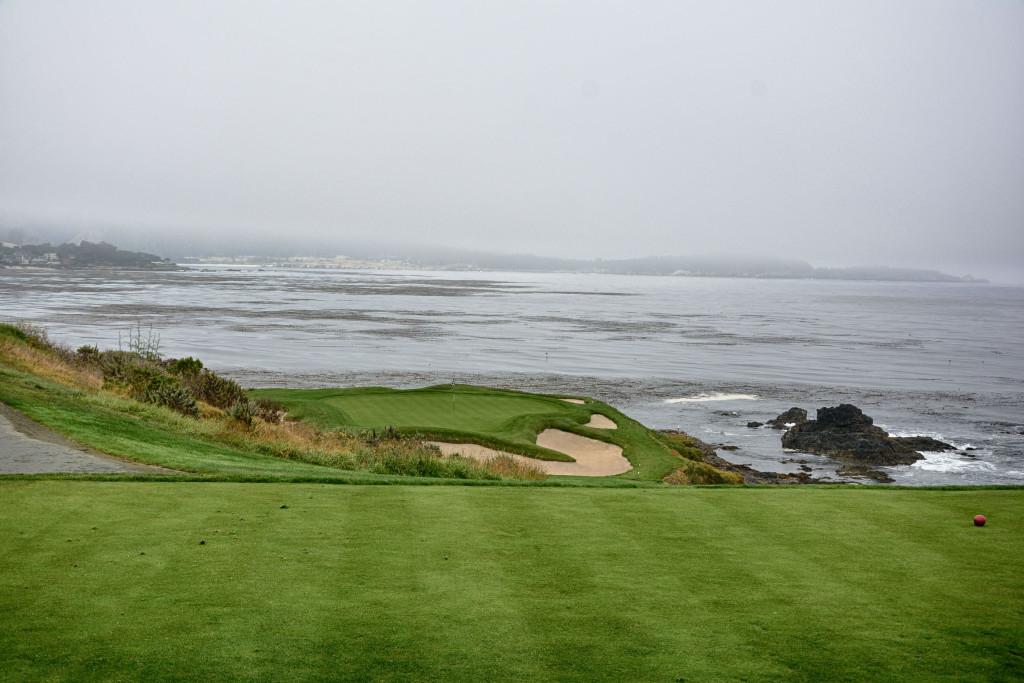The iconic 7th at Pebble.