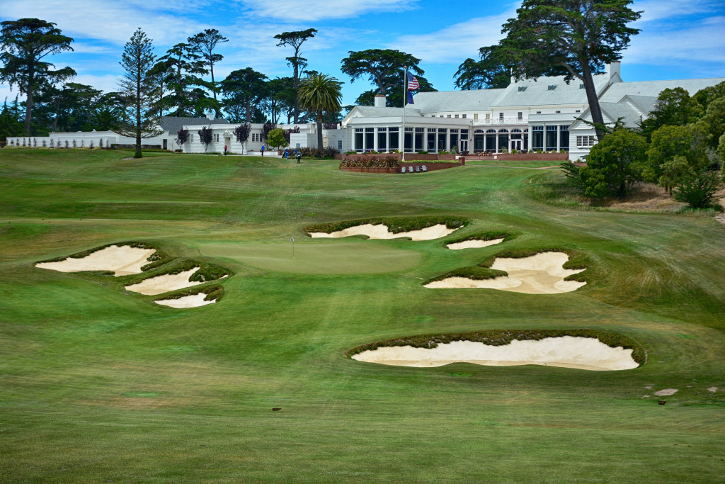 Obligatory shot of Cal Club. The bunkers here were insane.