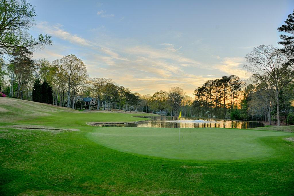 Atlanta Country Club Hole 18