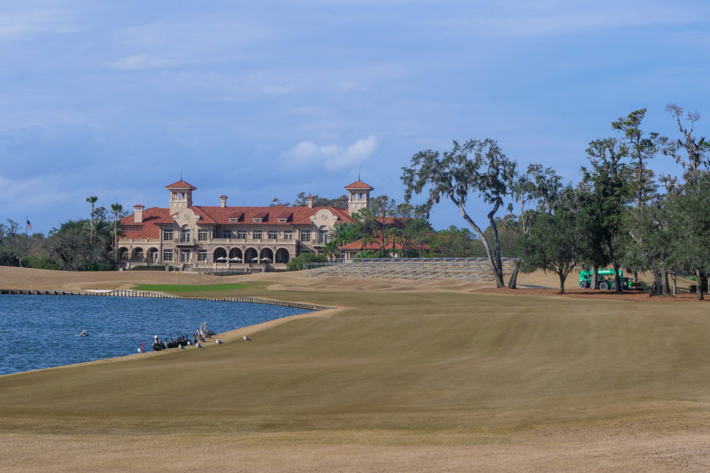 The 18th at TPC Sawgrass