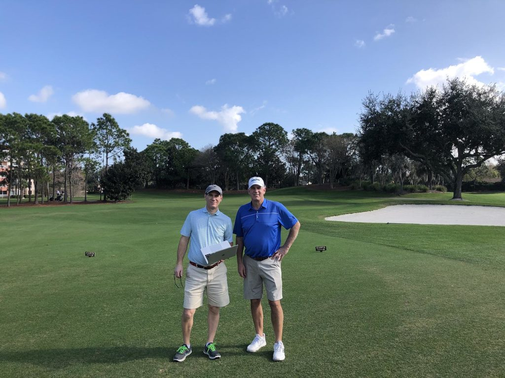 Mike Johnson and Mike Stachura of the Golf Digest Hot List